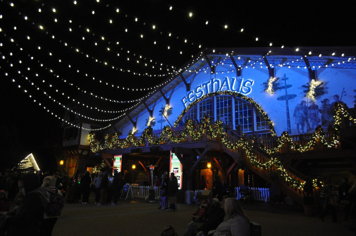 8. Christmas Town at Busch Gardens, Williamsburg