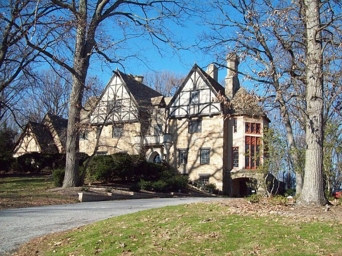 1) Cloisters Castle, Lutherville