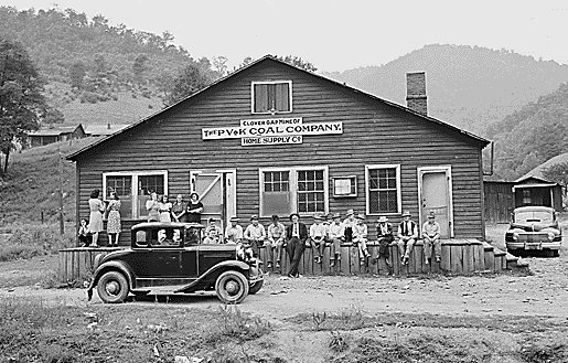 25 Photos Of 1930s And 1940s Kentucky Coal Camps