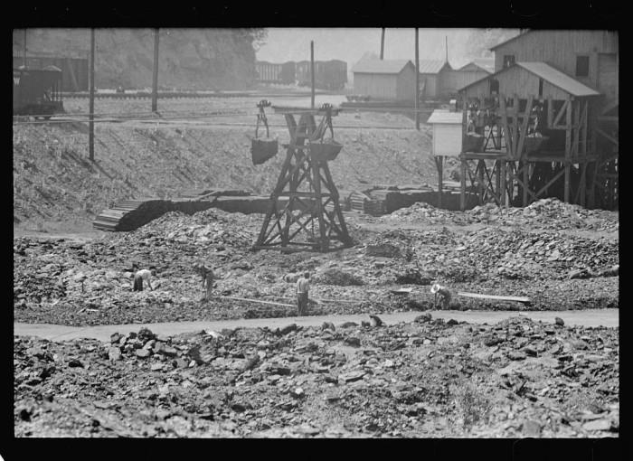 15. Coal breaker in Pike County, 1938.