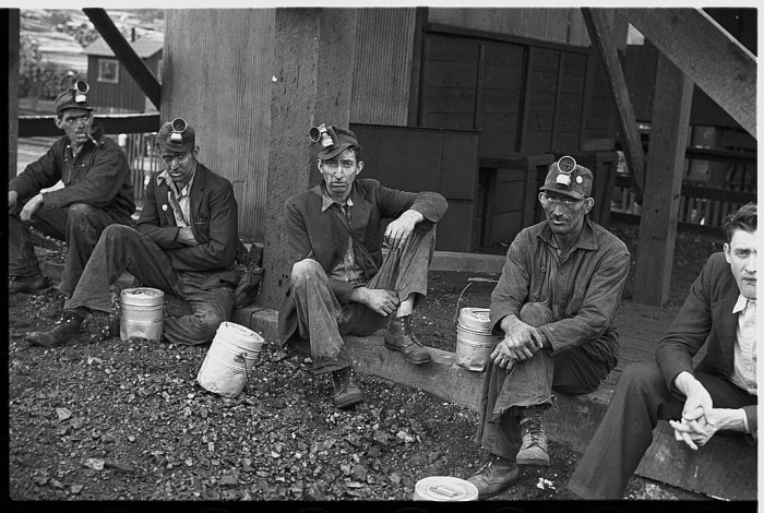 14. Coal miners during 1935 in Jenkins.