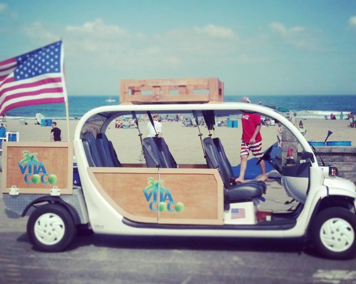 11. Avoid the hassle of beach parking and take a FREE shuttle.