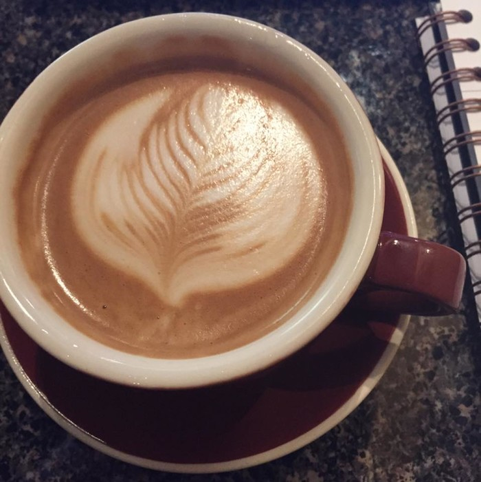 "9.	Find your favorite ""local"" and stop in for a coffee, tea or hot chocolate."