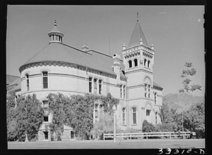 5. State Agricultural College, Logan