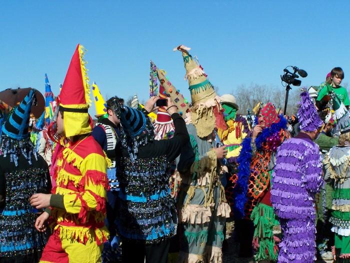 4. Cajun Mardi Gras