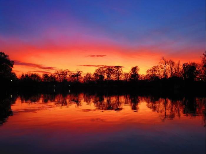 10. Craig Laborde captured this beautiful Baton Rouge sunset.
