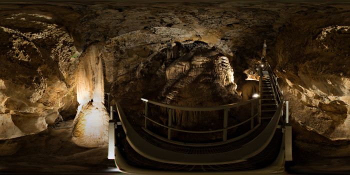 7. June: Explore Gardner Caves in Crawford State Park.