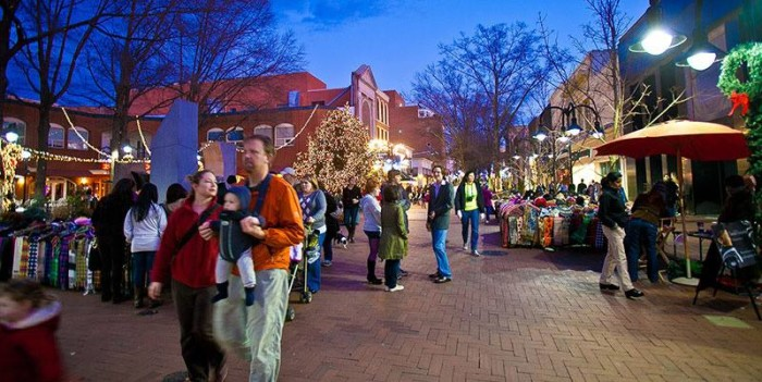 University Town Center Mall >> The Top 14 Magical Christmas Towns In Virginia