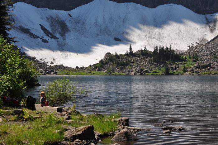 7. Lake 22, near Granite Falls