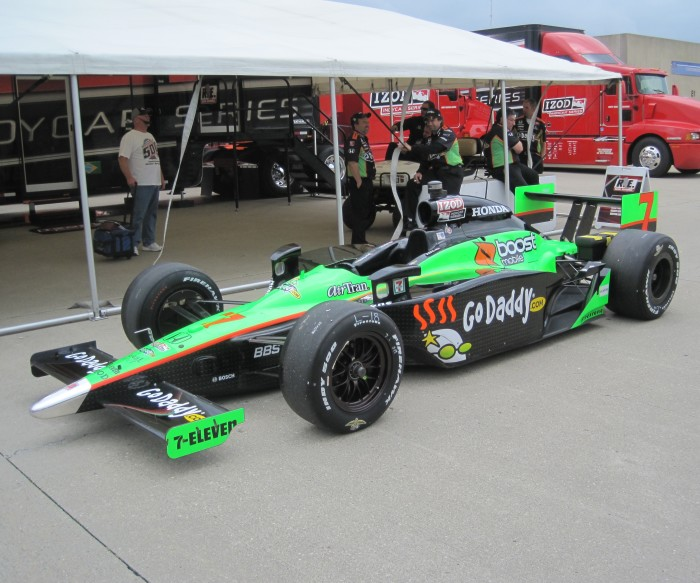 13. Get lost at the Indy 500
