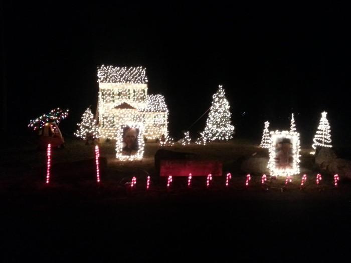 10. Danville Community Light Show, Danville