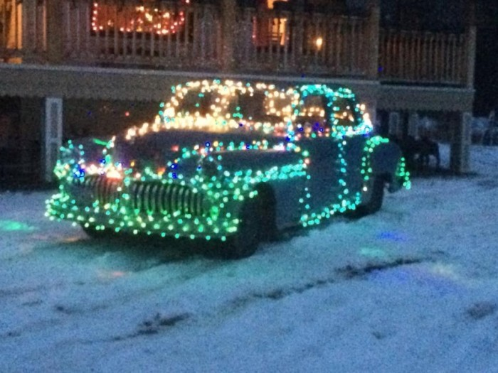 6) Might as well decorate your car, too!
