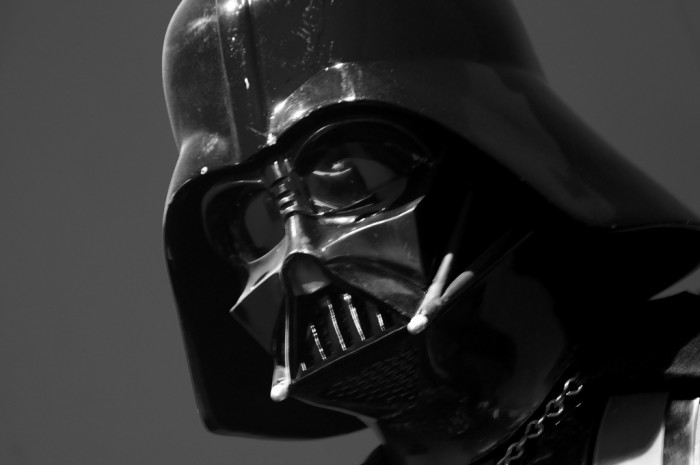 6. Darth Vader tries to save the universe – one highway at a time.
