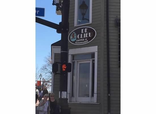 9. De Clieu Coffee and Sandwich, Fairfax