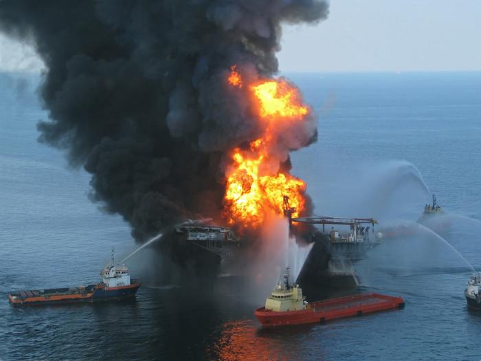 2. Deepwater Horizon Explosion