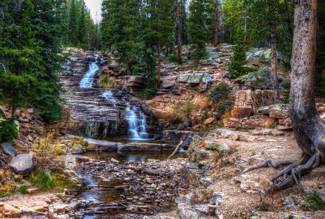 10. Upper Provo River Falls, by Douglas Passey