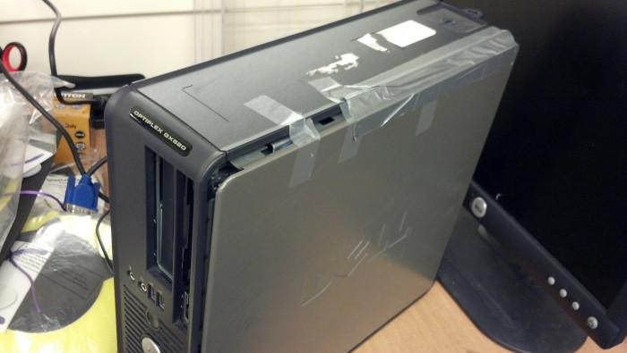 4. Duct tape repairs