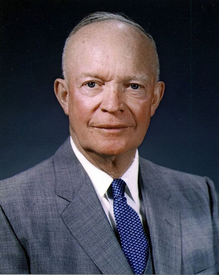 2. Dwight D. Eisenhower is the first elected president from Kansas (1953).