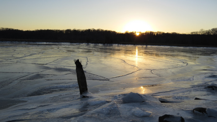 14. For another look at the frozen Potomac, try Dyke Marsh Wildlife Preserve in Alexandria.
