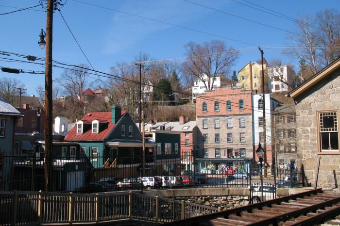 5) Historic Ellicott City