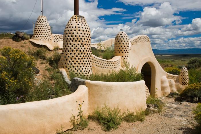 14. Earthships, Near Taos