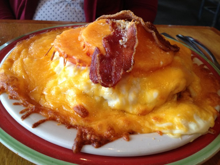 3. Indulge in some Kentucky Hot Brown.