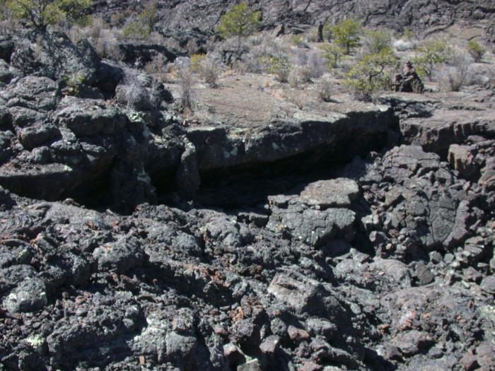 16. Lava Flow at El Malpais, Near Grants