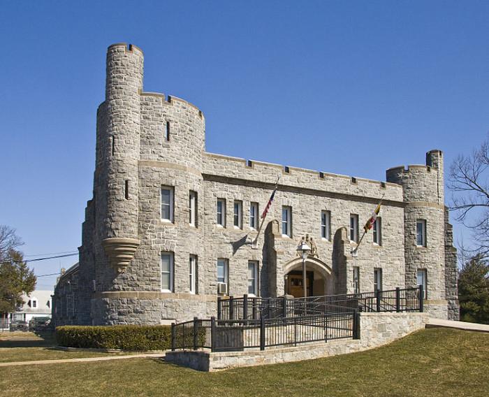 2) Elkton Armory, Elkton