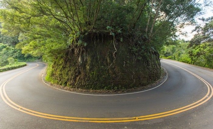 3) Every motorcyclist's dream is driving the Road to Hana's many curves.