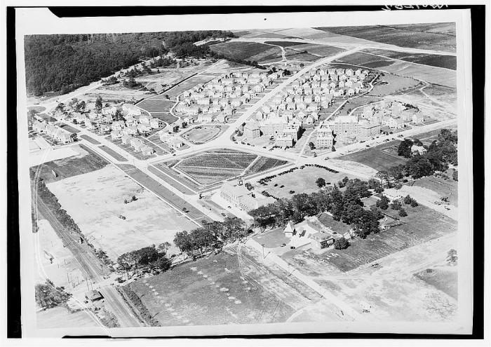 2. An aerial view of Fair Lawn, taken in 1935.