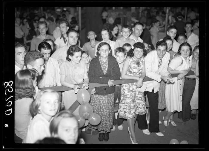 13. The crowd at Father Walsh's Carnival in Trenton.