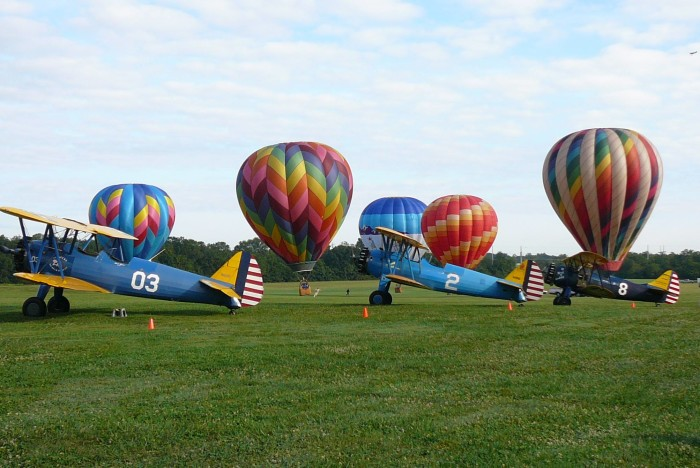 4. See the Flying Circus Airshow in Bealeton.