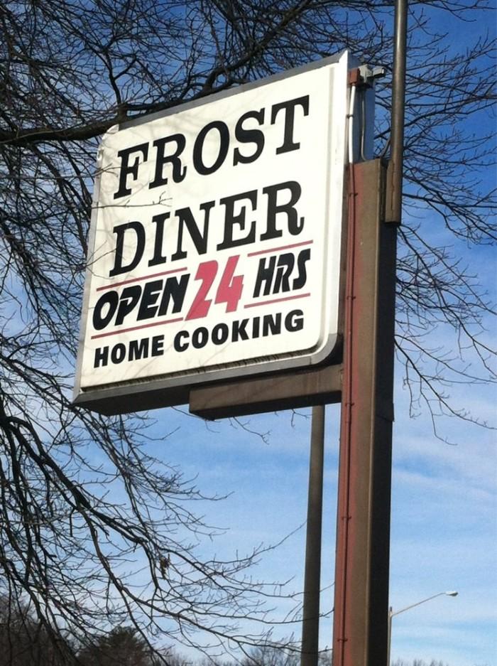 16. Frost Diner, Warrenton