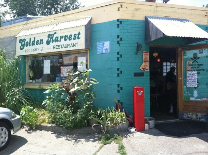 11) Golden Harvest Restaurant, Lansing