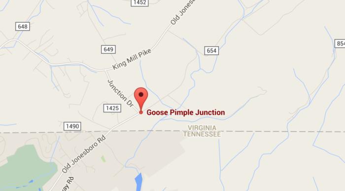 4. Goose Pimple Junction, Washington County