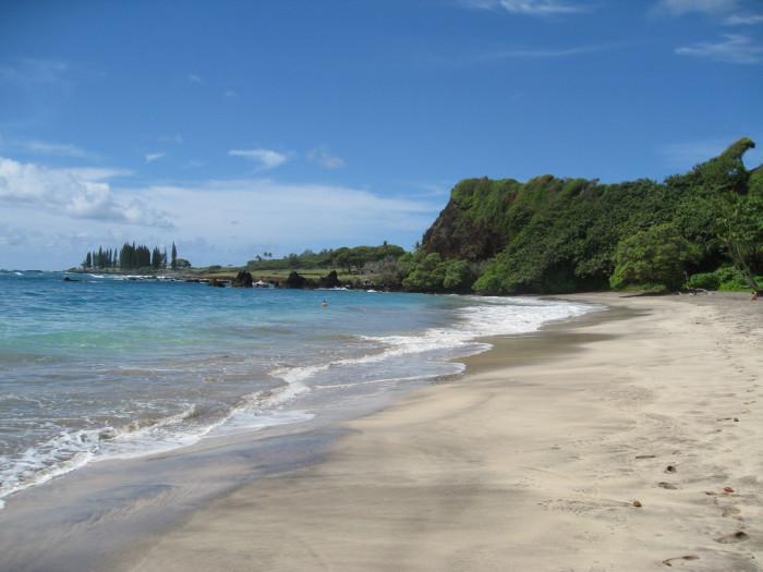 4) Hamoa Beach
