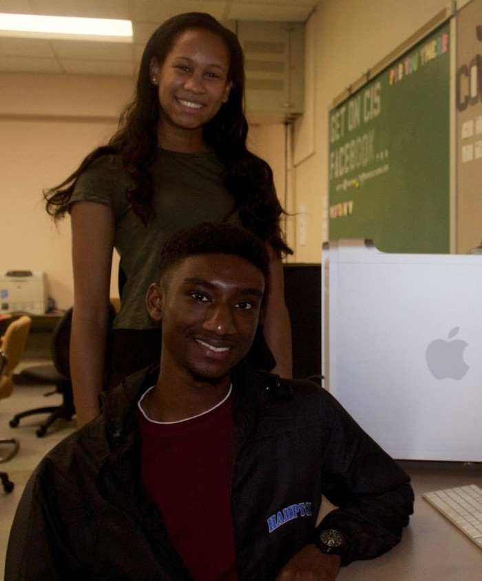 NOW: Two Hampton University students received scholarships from Apple, allowing them to intern at Apple's headquarters in Cupertino, California, 2015.