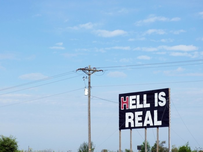 9. Hell is real.