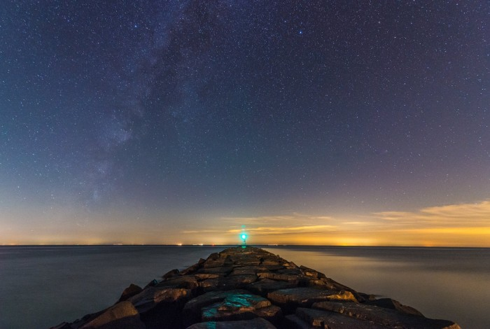 16. A clear night at Higbee Beach, taken by KGS Photo.