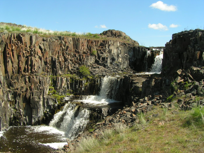 7. Hog Canyon Falls