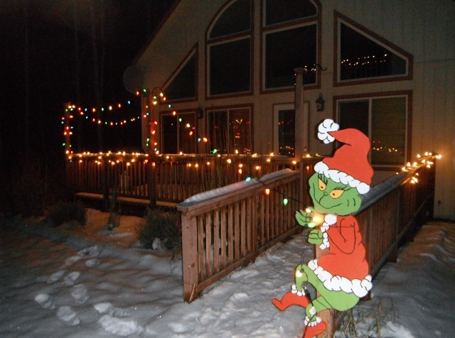 5) Keep an eye out for the Grinch.