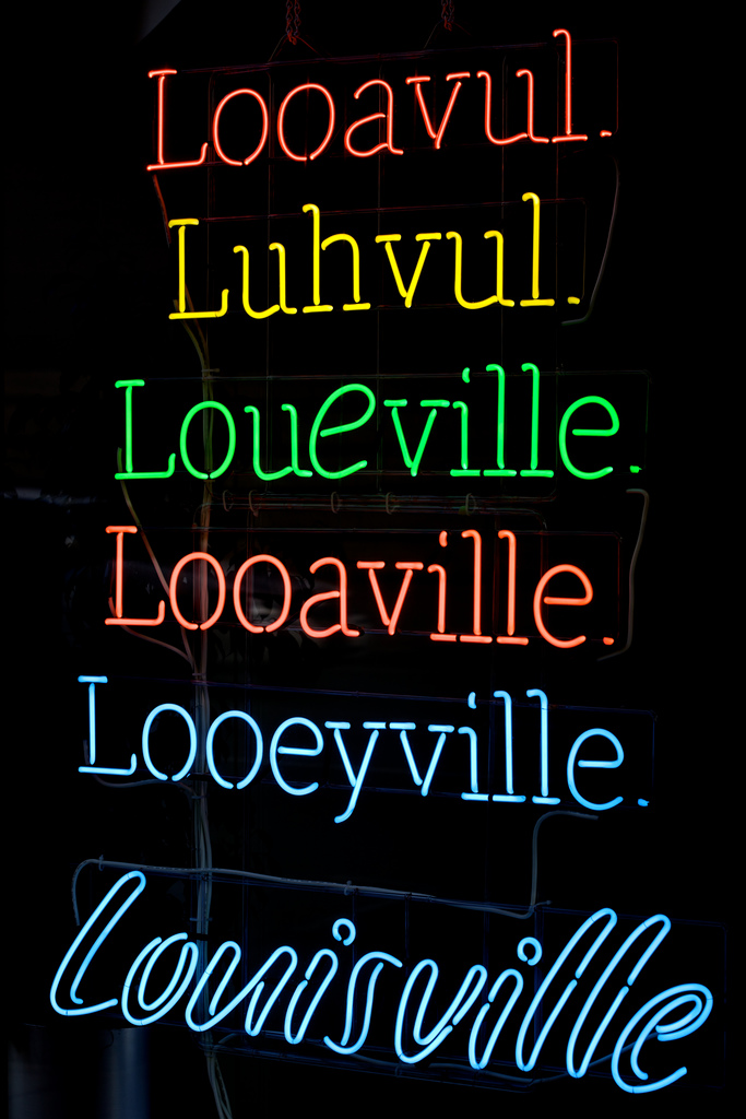 3. How do you say Louisville?