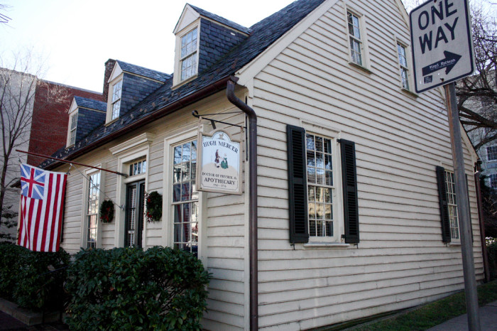 7. Visit the old stomping grounds of George Washington in Fredericksburg.