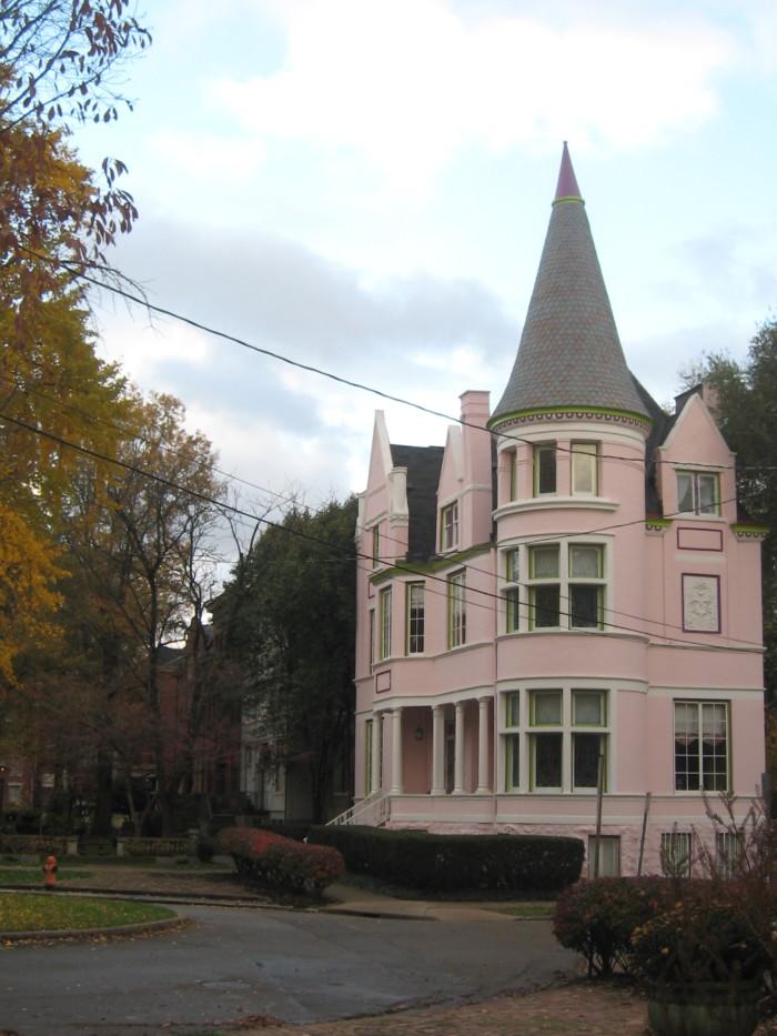 1. Pink Palace (side)