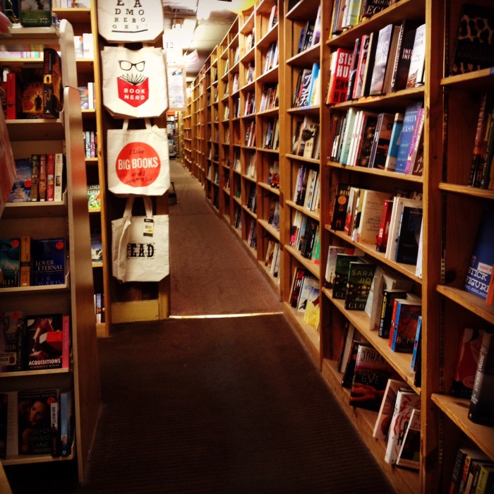 11. Get lost in a book, library or book store.