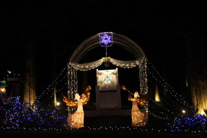 3. Aspen Meadow Celebration of Lights.