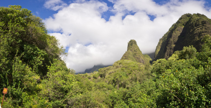 3) Iao Valley State Park