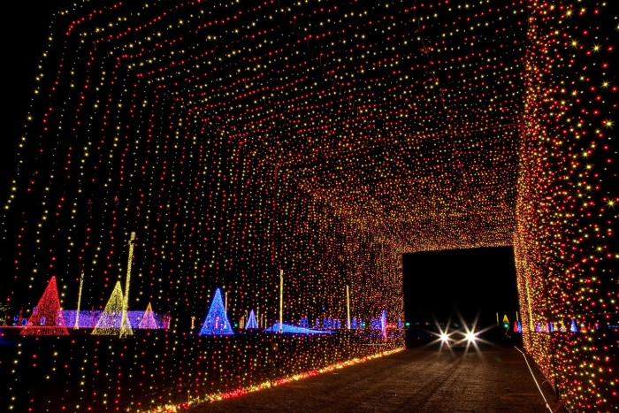 the 13 best christmas light displays in virginia
