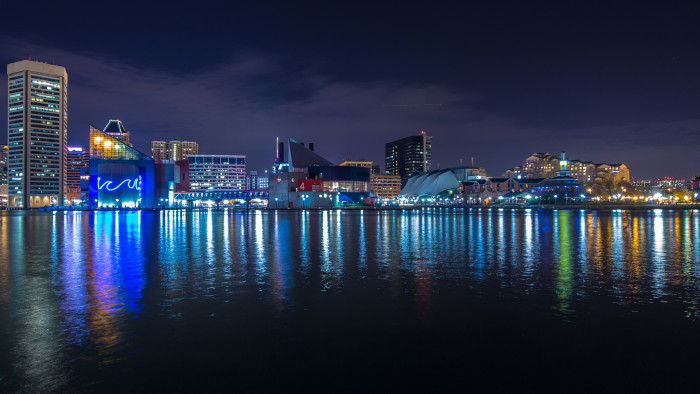 9) Baltimore Inner Harbor