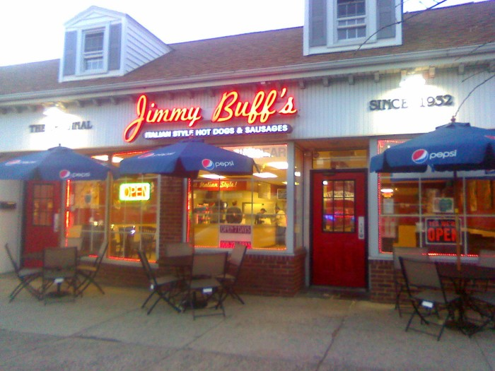 7. Get your grub on at Jimmy Buff's.